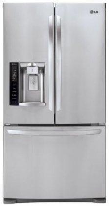 LG LFX28968ST French Door Refrigerator, 27.6 Cubic Feet, Stainless Steel
