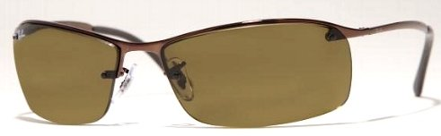 Brown Ray Ban 3183 014/73 63 Sunglasses