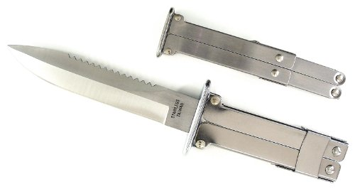 Ruko Wwii Stainless Steel Blade Paratrooper Knife (5-3/8-Inch)