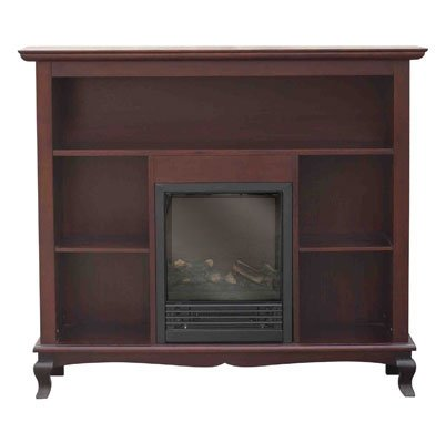 Stonegate® Queen Anne Etagere Mantle and Electric Fireplace photo B0046MFE4U.jpg