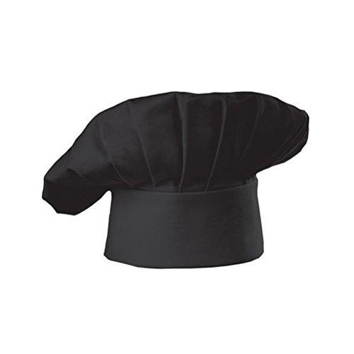 leorx-gorra-de-cocinero-sombrero-de-chef-con-estilo-seta-para-restaurante-de-cocina-negro