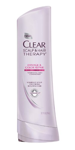 CLEAR SCALP & HAIR BEAUTY Damage & Color Repair Nourishing Conditioner, 12.7 Fluid Ounce (079400194251)