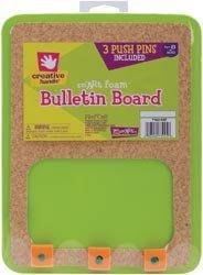 Fibre Craft Bulletin Board W/3 Push Pins 7162-99E; 3 Items/Order