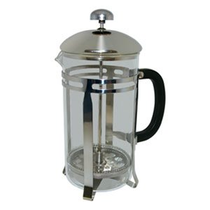 33 oz. Glass / Stainless Steel French Coffee Press by Update International