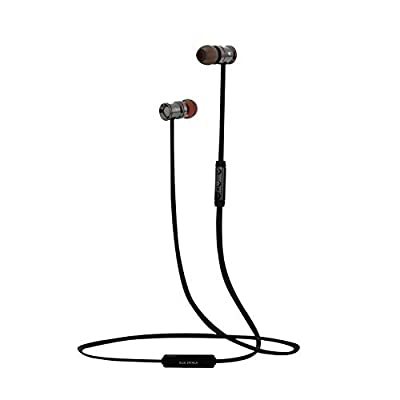 Earbuds Noise Cancelling with Microphone & Stereo for Running Sports Earpiece with Magnetic Attraction 816
