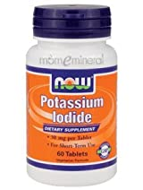 Potassium Iodide 30 mg 60 Tablets by NOW Foods