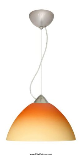 Besa Lighting 1KX-4202OP-SN Porto Cable Large Pendant