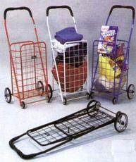 folding shopping cart for carrying laundry or grocery home kitchen. Black Bedroom Furniture Sets. Home Design Ideas