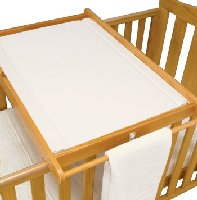 East Coast Cot Top Changing Mat in White (mat only, not the cot top)