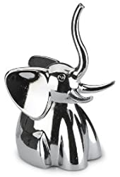 Umbra Zoola Elephant Ring Holder, Chrome