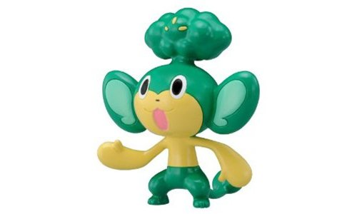 M-012 Yanappu - Pansage Monster Collection Pokemon M Series Figure Pokemon