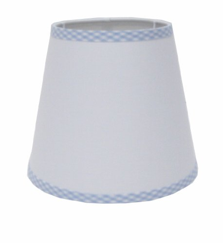 Babykins White Boy UNO Lamp Shade 5.5(Top D)x8(Bottom D)x7