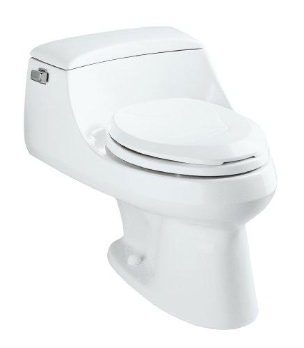 KOHLER K-3466-0 San Raphael One-Piece Elongated Toilet, White