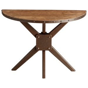 Cheap Cyan Lighting 5068 Kell – 39″ Console Table, Raw Iron/Natural Wood Finish (B008ELWTKG)