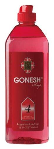 GONESH フレグランス・ボディソープ BODY SOAP 身体用洗浄剤 No,4(オーチャード&ヴァインの香り)