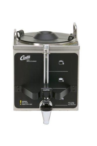 Wilbur Curtis Gemini 1.5 Gallon Satellite Dispenser - Commercial Beverage Dispenser that Preserves Flavor and Prevents Heat Loss - GEM-3 (Each)