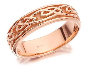 Clogau 9ct Rose Gold Eternal Love Ring - M