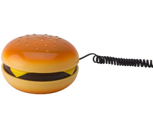 Silly Hamburger Shaped Telephone