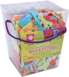 Fibre Craft Cool Foam Stickers 5 Ounces Dotty Alphabet 21442E; 3 Items/Order