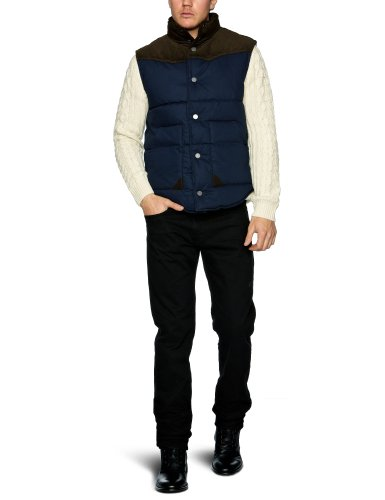 Selected Homme Jeans West J Men's Gilet Navy X-Large