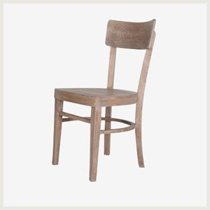 Chaise marcel chaise en bois brut chaise de table style for Chaise table de cuisine