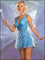 Blue Star LIGHT UP Fairy Costume