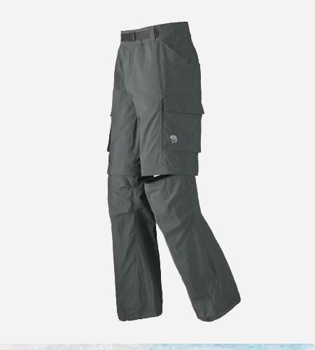 Mountain Hardwear Mesa Convertible Pant-Grill-M