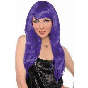 Purple Glamorous Wig - 1
