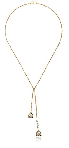 House-of-Eleonore-Paradise-18k-Yellow-Gold-Double-Drop-Orchid-Pendant-Necklace
