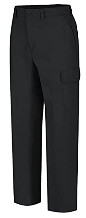 VF Corporation - WP80BK4230 - Men's Work Pants, Cotton/Polyester, Color: Black, Fits Waist Size: 42 x 30