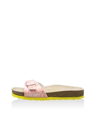 Pepe Jeans Sandalo Flat Bio Leopard [Rosa]