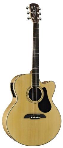 alvarez artist series aj80ce jumbo acoustic electric guitar natural gloss finish used. Black Bedroom Furniture Sets. Home Design Ideas