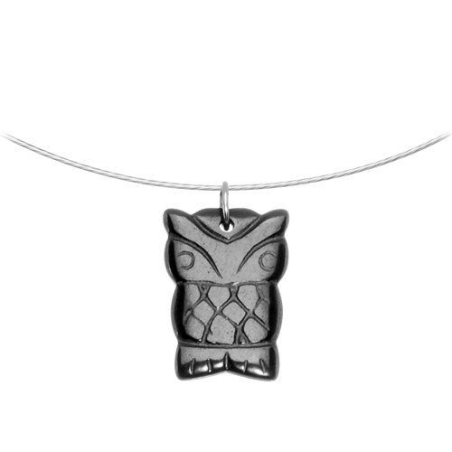 Hemalyke Owl Choker Necklace