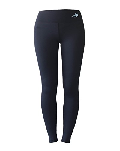 Girls Leggings - Compression Junior Yoga Pants - Kids Tights by CompressionZ (Mens Thermal Leggins compare prices)
