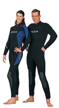 54mm-Tilos-Mens-Titanium-Cold-Water-Semi-Dry-Seal-Suit-for-Scuba-Diving-Black-XL