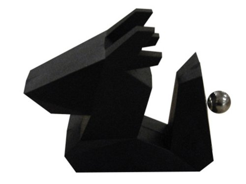 [Design Apt] ZOORIGAMI Dragon origami wind Dragon card stand photo stand/memo clip/card holder/black