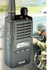 Tekk XU-1000 Handheld Portable Two Way Radio by Tekk