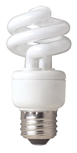 Tcp 69032B Cfl 3-Way Spring A Lamp - 40, 75, 150 Watt Equivalent (Max 32W Used) Soft White (2700K) Spiral Light Bulb