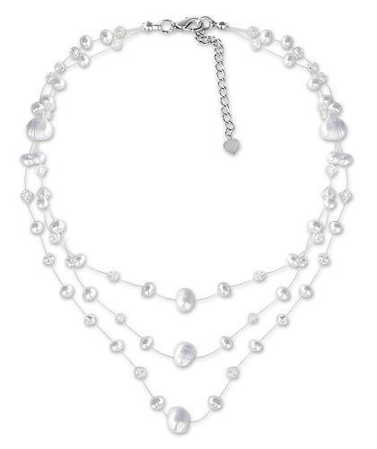 Pearl choker, 'Gossamer White' 1