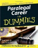 img - for Paralegal Career For Dummies by Scott Hatch, Lisa Hatch [Paperback] book / textbook / text book