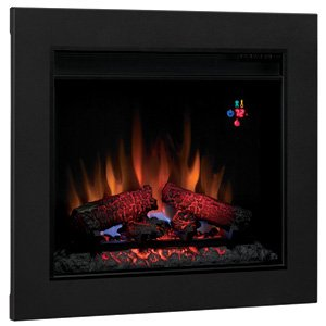 Classic Flame ClassicFlame 23 in SpectraFire Fireplace Insert & Flush Mount Conversion Kit - 23EF023GRA-BBKIT23 picture B009MN6XQG.jpg