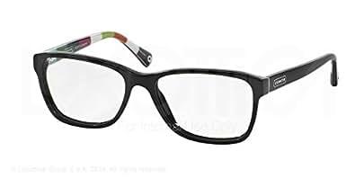 Coach Eyeglass Frames Julayne : Amazon.com: Coach Julayne Eyeglasses HC6013 5002 Black ...