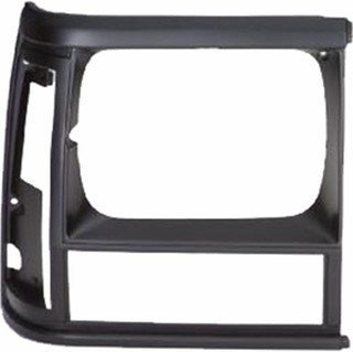 QP A0711-a Jeep Cherokee Black Passenger Headlight Door Grille