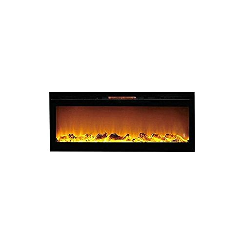 Gibson Living GL2050WL Sydney 50 Inch Log Recessed Fortification Mounted Electric Fireplace