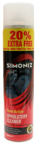 Simoniz SAPP0501A Upholstery Cleaner 500ml
