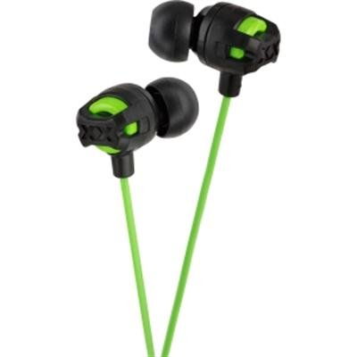 In-Ear Headphones W/Mic Green