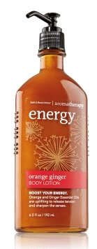 Bath and Body Works Aromatherapy Orange Ginger Energy Body Lotion