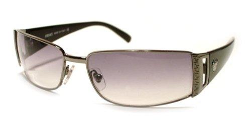 Versace Sunglasses VE2021 1001/11 Gunmetal/Grey