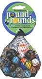Mega Marbles Pound of Rounds - 64 Assorted Marbles