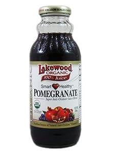 Lakewood Organic 100% Juice Smart Healthy Pomegranate (1 X 12.5 Fl Oz)